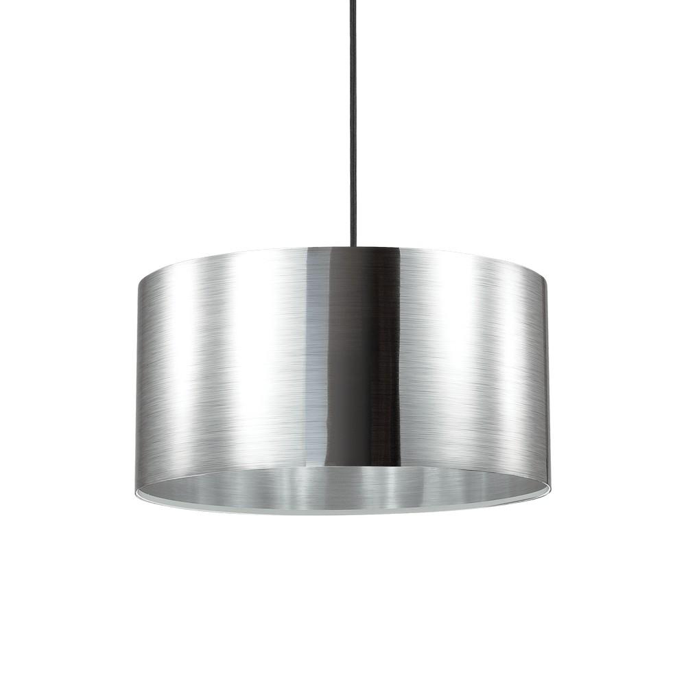 Deckenleuchte - Foil mit Metalleffekt - E27 -1-flammig