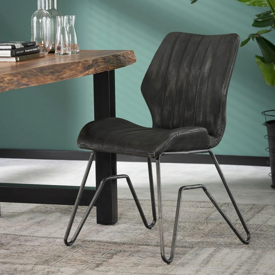Stuhl - Vintage Used Look - in 2 Farben erhältlich