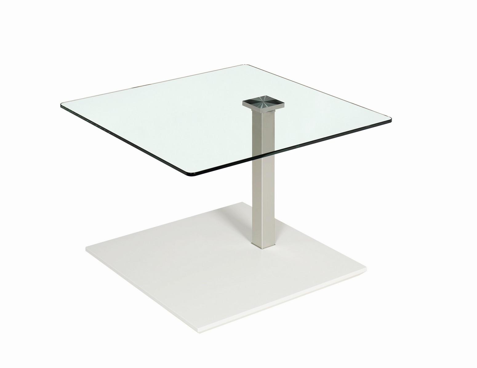 UP Basic - Glastisch - Glas klar 10 mm & Hydro Lift Mechanik