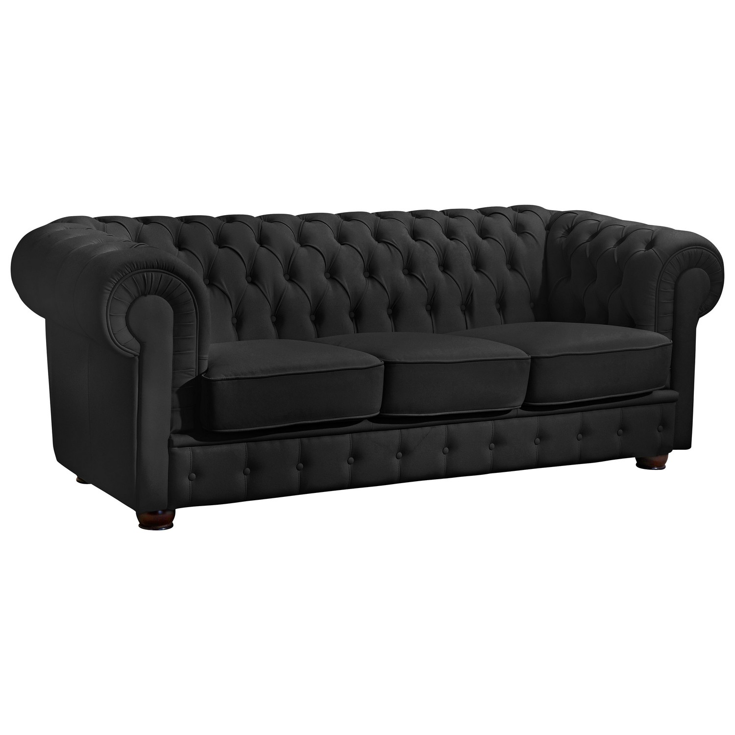 Sofa & Sessel - Bridgeport im Chesterfield Stil - 100% Leder